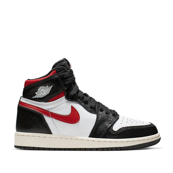 Mens Jordan 1 Retro High Black Gym Red 555088-061