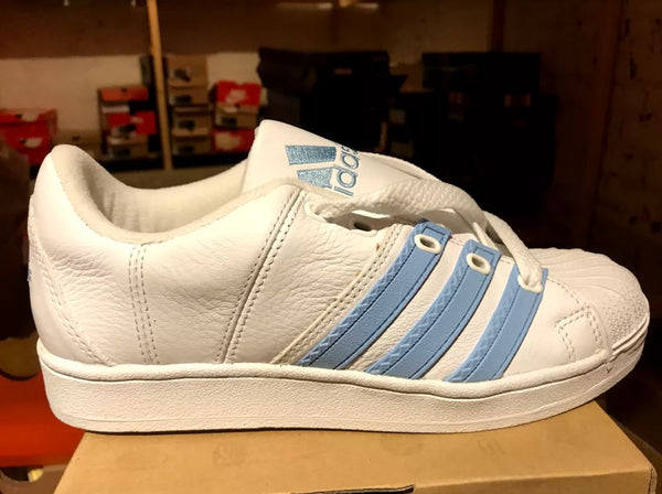 WMNS  Adidas Super Modified Wht/Blue 673558