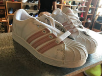 WMNS Adidas Super Modified Wht/Pink 673559