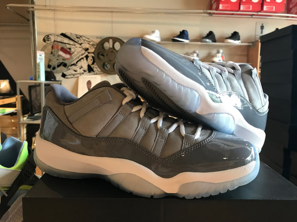 MENS Nike Air Jordan 11 Low Cool Grey 528895-003