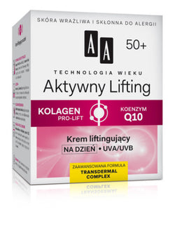 Aktive  Lifting Day Cream 50+ -KREM LIFTINGUJĄCY NA DZIEŃ 50+