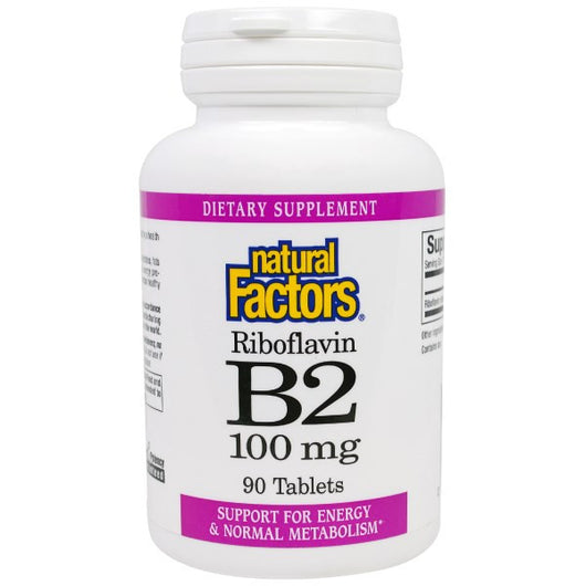 Vitamin B2 -100 mg. - 90 tablets-Witamina B2- 100 mg. - 90 tabletek