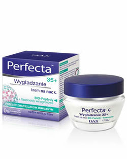 Perfecta-Smooth Effect Night Cream 35+ - Perfecta Wygładzanie 35+Krem Na Noc