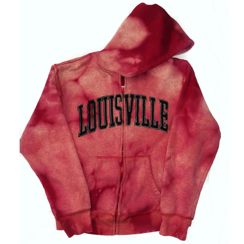 Louisville zip sweatshirt