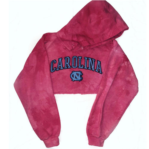 Pink Carolina crop sweatshirt