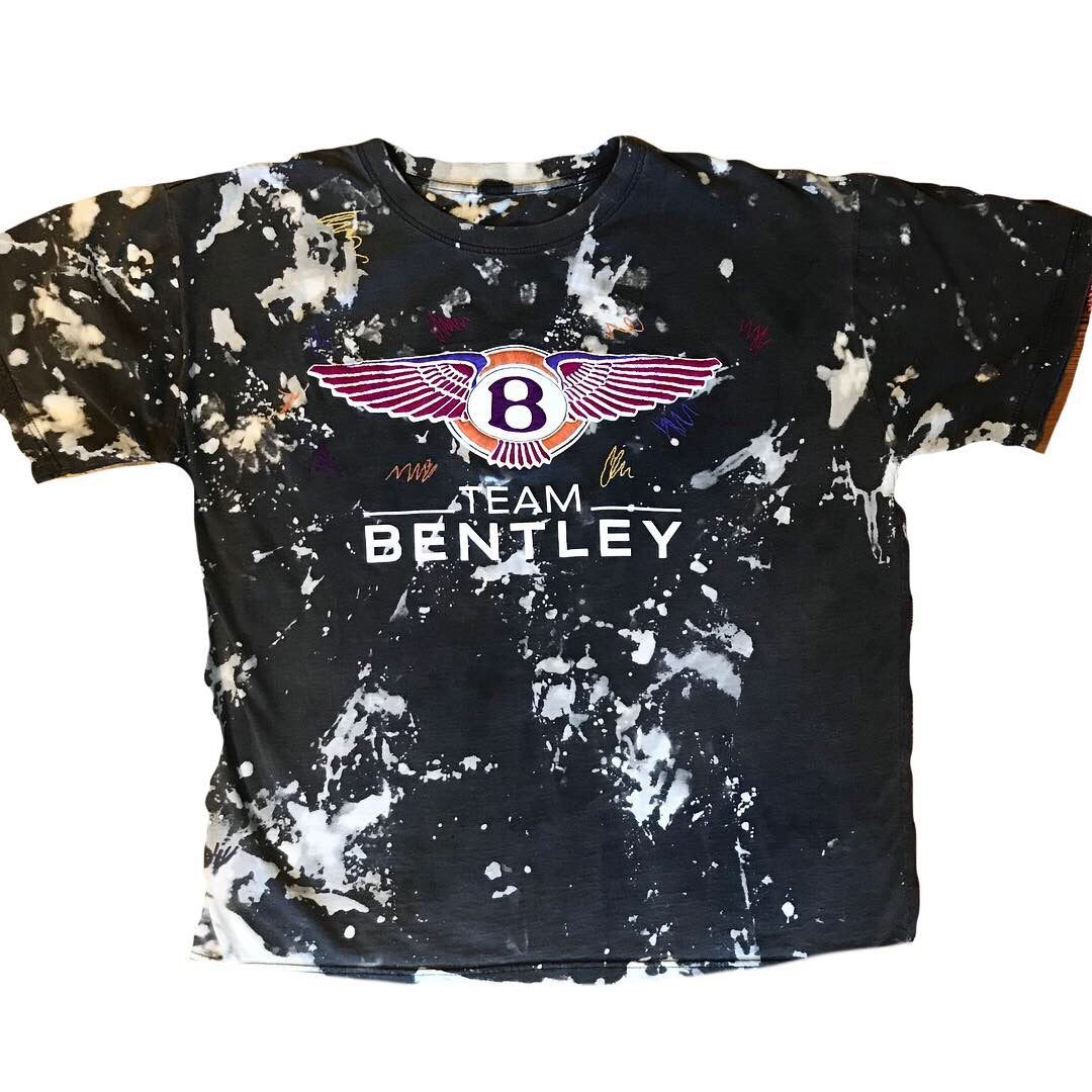 Bentley hand embroidery t-shirt