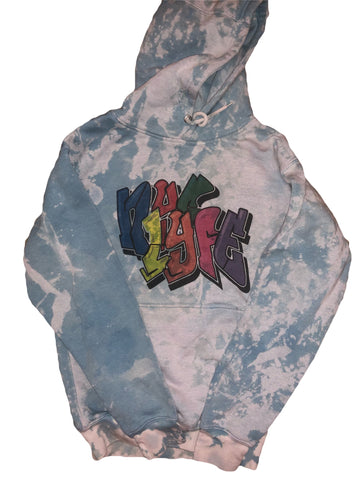 nyc life dyed hoodie