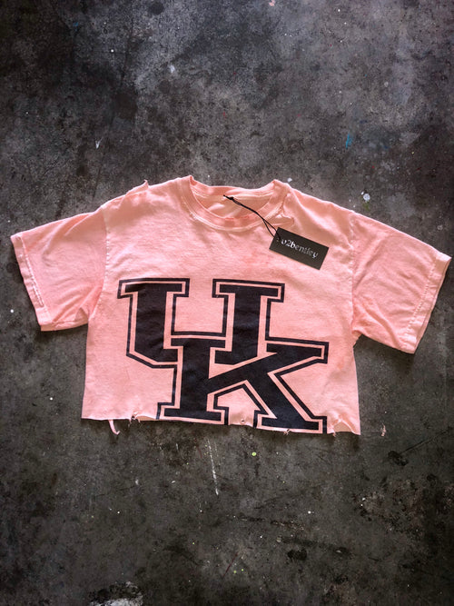 orange dyed UK crop