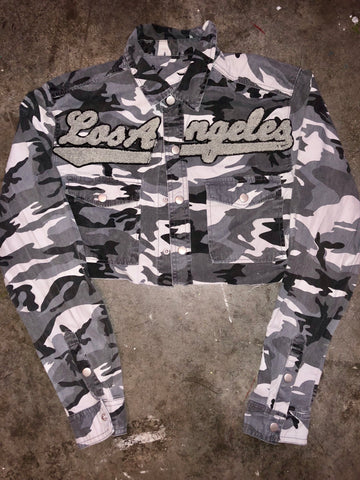 Los Angeles camo crop
