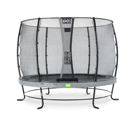 Order 10ft Premium Trampoline with Safety Net Grey