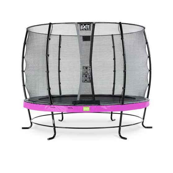 Pre Order 10ft Premium Trampoline with Safety Net Purple