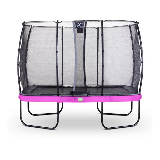 Pre Order 14ft x 8ft Premium Trampoline with Safety Net Purple