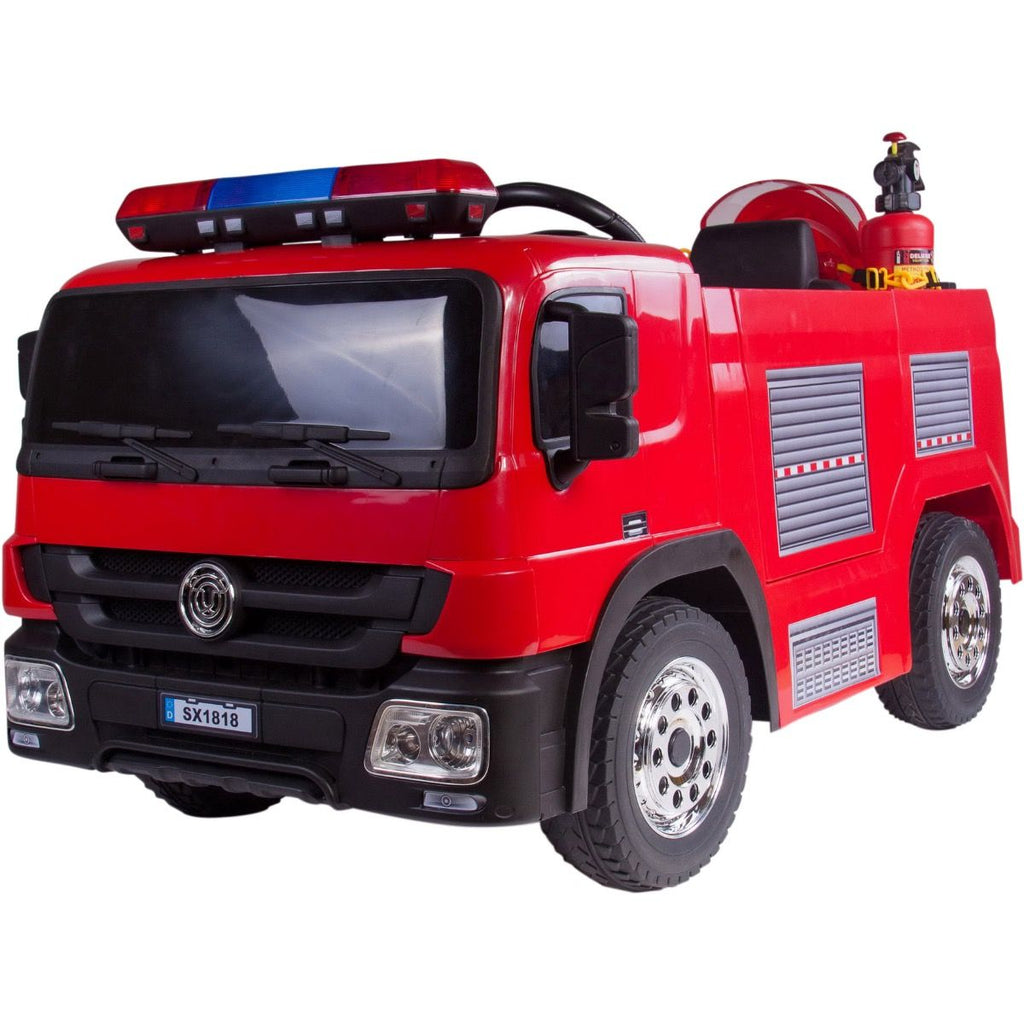 12v Fire Engine with Accessories & Eva Tires
