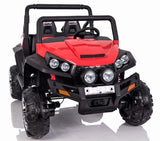 24v WildCat  ATV 4WD EVA Tires-Leather Seats Red *SPECIAL OFFER*