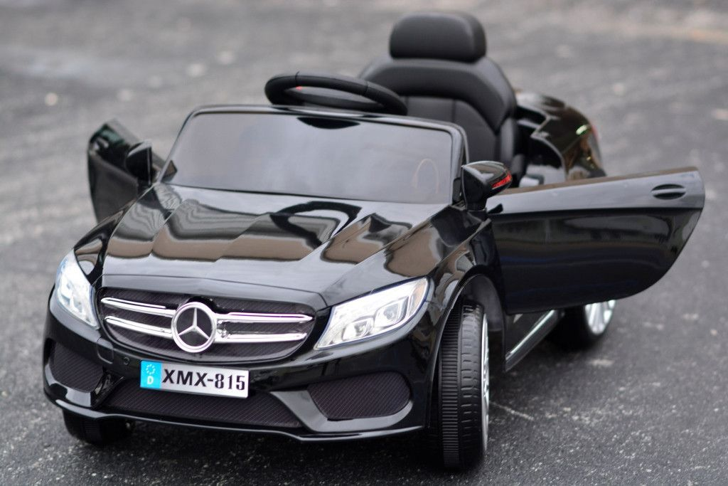 12v Mercedes Style Coupe Car Black