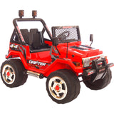 Drifter 4x4 12V Jeep Red Free Delivery