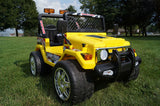 12v Drifter Jeep Yellow