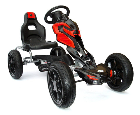 Tornado Eva Tire G0-Kart Black/Red