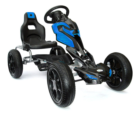 Tornado Eva Tire Go-Kart Blue/Black