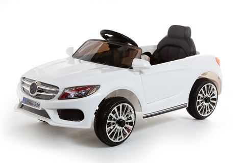 12V White C Class Style Car
