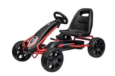 Junior Eva Wheel Go-Kart Black