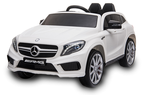 12V Licensed Mercedes GLA Car White