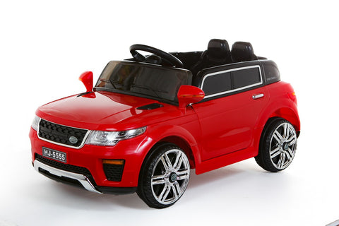 12V Red Range Rover Style Car