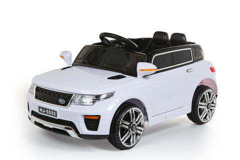 12V White Range Rover Style Car *Special Offer*