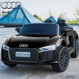 12v Licensed Audi R8 Spyder Black