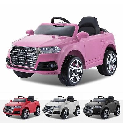 12v Pink Audi Q7 Style Car New Model 2018