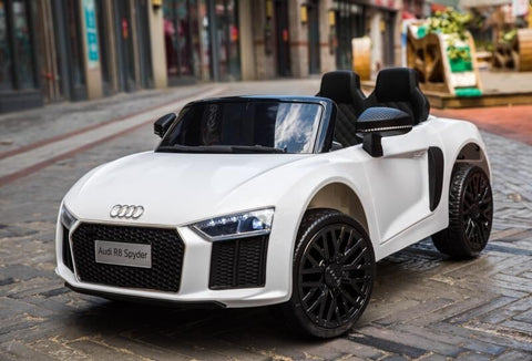 12v Licensed Audi R8 Spyder White