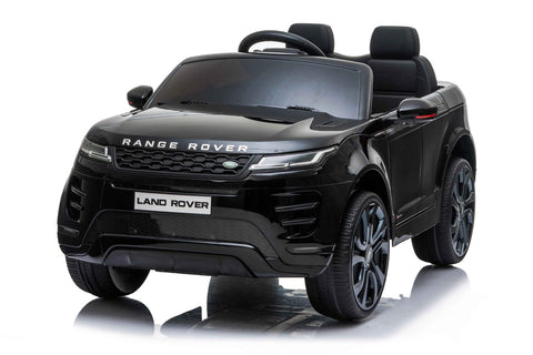 12V Licensed bLACK Range Rover Evoque Ride On Car FREE DELIVERY