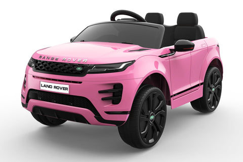 Pre Order 12V Licensed Pink Range Rover Evoque Ride On Car FREE DELIVERY