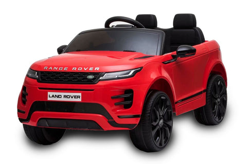 12V Licensed Range Rover Evoque Ride On Car Red FREE DELIVERY