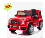 12V Licensed Mercedes G63 Ride On Jeep Red