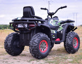 24v Desert Army Quad 4WD EVA Rubber Tires