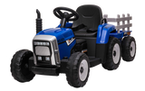 12v R/C Twin Motor Tractor & Trailer Blue