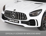12V Licensed Mercedes GTR Car White