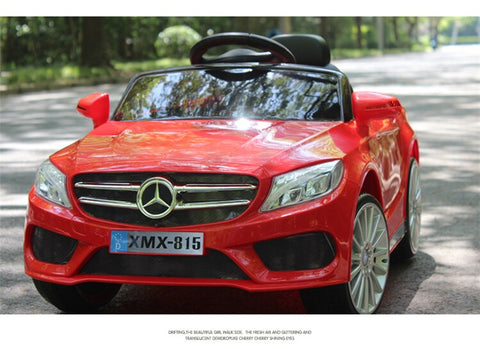 12v Mercedes Style Coupe Car Red