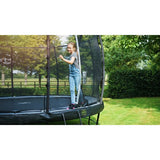 Pre Order 12ft Premium Trampoline with Safety Net Grey