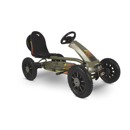 Spider Expedition Go-Kart with Sounds & Lights