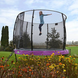 Pre Order 12ft Premium Trampoline with Safety Net Purple