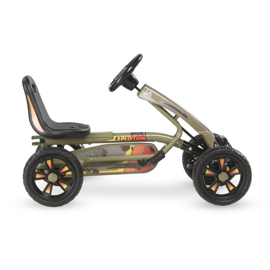 Junior Expedition Go-Kart Army Green