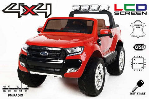 Ford Ranger Wildtrack 4WD 24v Up-Graded LCD Screen,Leather Seats,EVA Tires