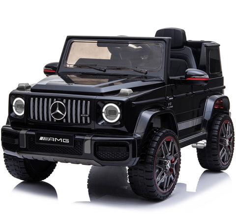 12V Licensed Mercedes G63 Ride On Jeep Black