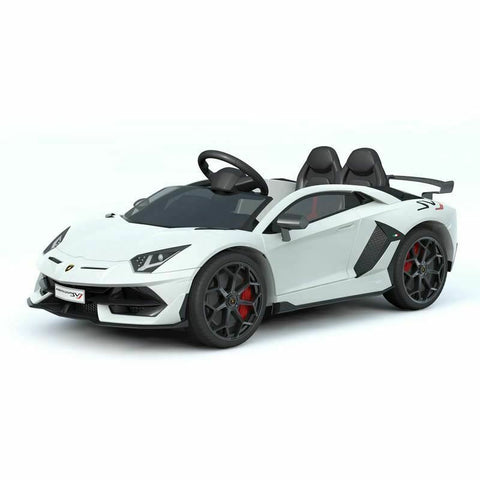 12V Licensed Lamborghini 2 Seater Ride On Car White