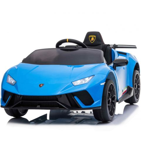12V Licensed Lamborghini Huracan Car Blue