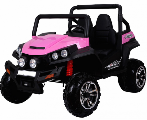 *Pink*  24v WildCat  ATV 4WD 2 Leather Seats EVA Tires