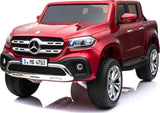 24v Licensed Mercedes-Benz X-Class 4WD EVA Tire Red