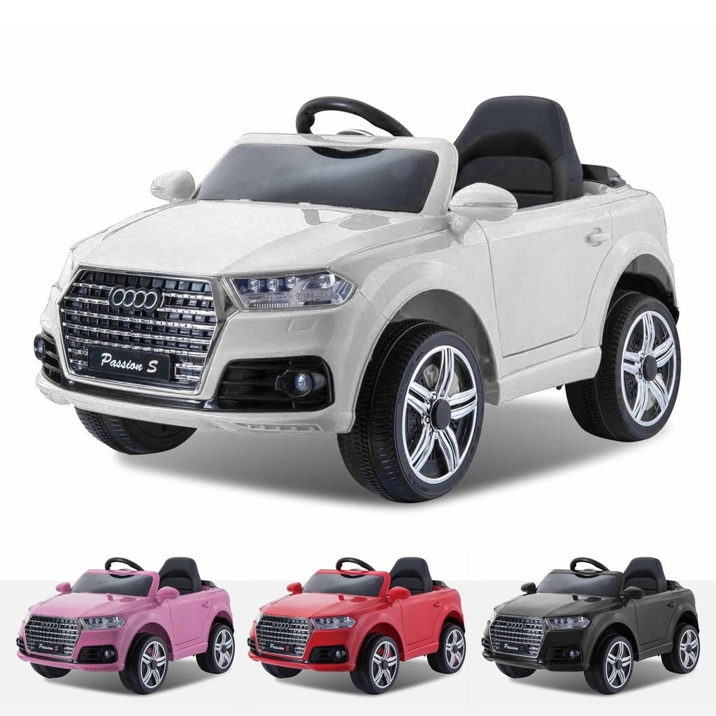 12v White Audi Q7 Style Car New Model 2018